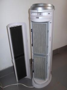 test d 39 un purificateur d 39 air hepa mobile pour la maison. Black Bedroom Furniture Sets. Home Design Ideas