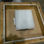 Le filtre F7 neuf dans sa boîte