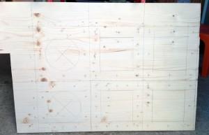 Plan du caisson à filtre