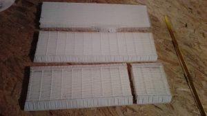 filtre F9 mini plis découpé